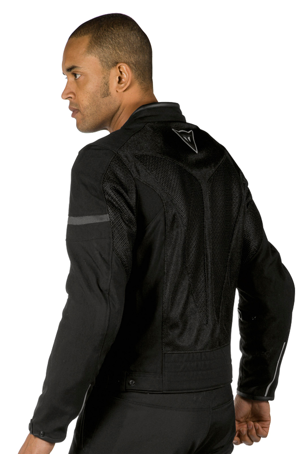 Dainese Air-Frame Tex summer motorcycle jacket black-black