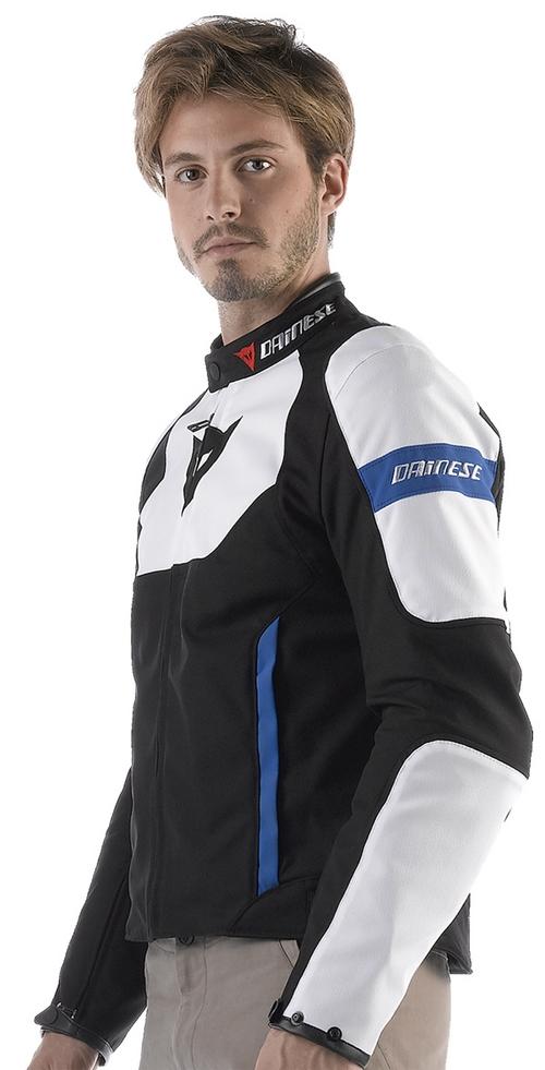 Giacca moto Dainese Avro Tex nero-bianco-blu