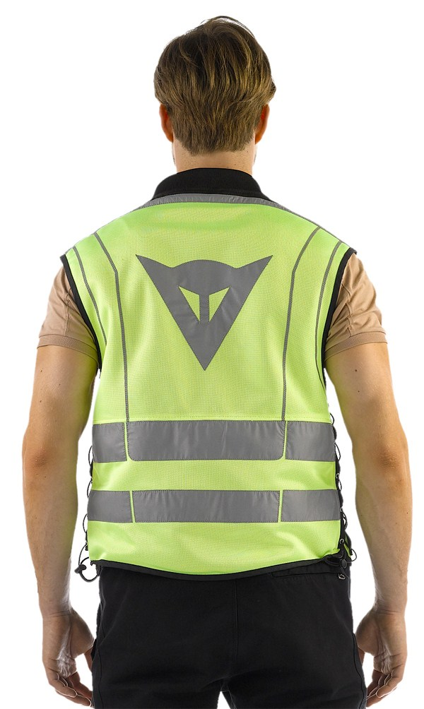 Dainese High Visibility Pro Vest yellow fluo-black