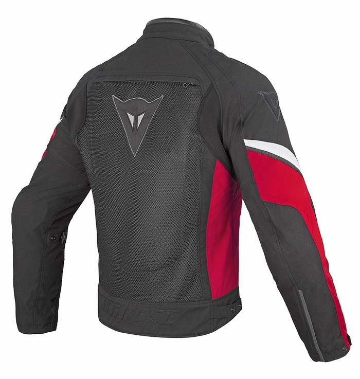 Giacca moto Dainese Air 3 Tex Nero Rosso