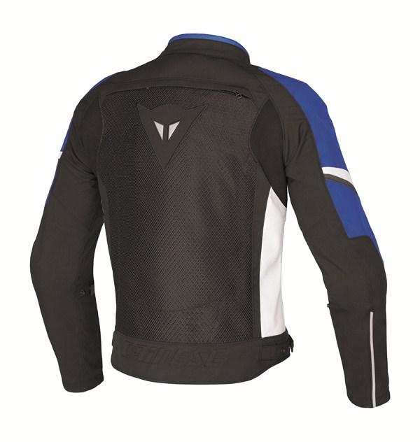 Giacca moto Dainese AIR-3 TEX nero-blu-bianco
