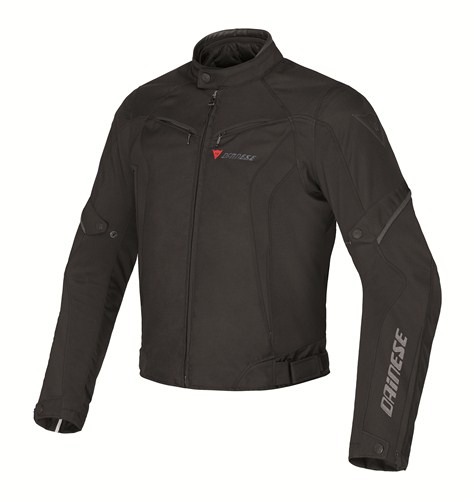 Dainese Crono Tex Lady motorcycle jacket black black