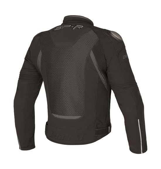 Dainese Super Speed Tex motorcycle jacket black-black.gray