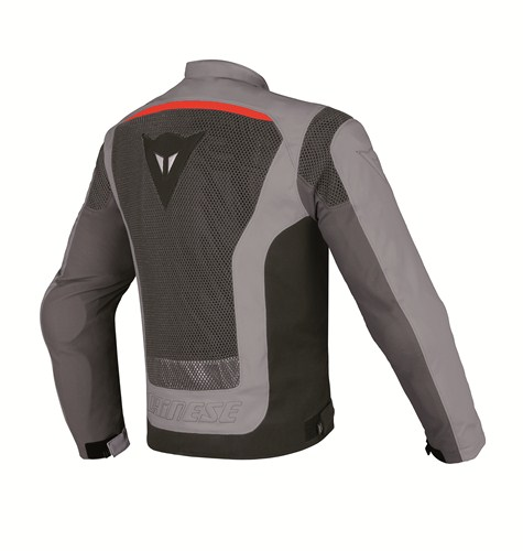 Giacca moto Dainese Air Tourer S-ST castle rock-grigio-rosso