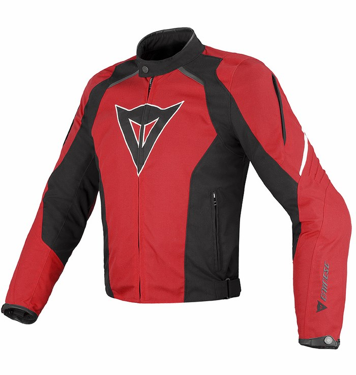 Dainese Laguna Seca Tex Jacket Red Black White