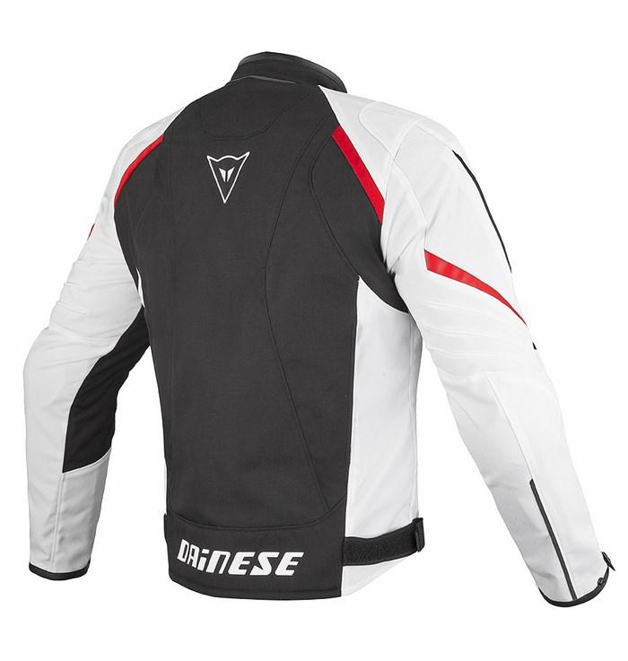 Dainese Laguna Seca Tex Jacket Black White Red