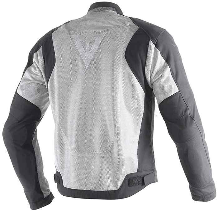 Dainese Air Flux D1 Tex summer jacket Black Anthracite