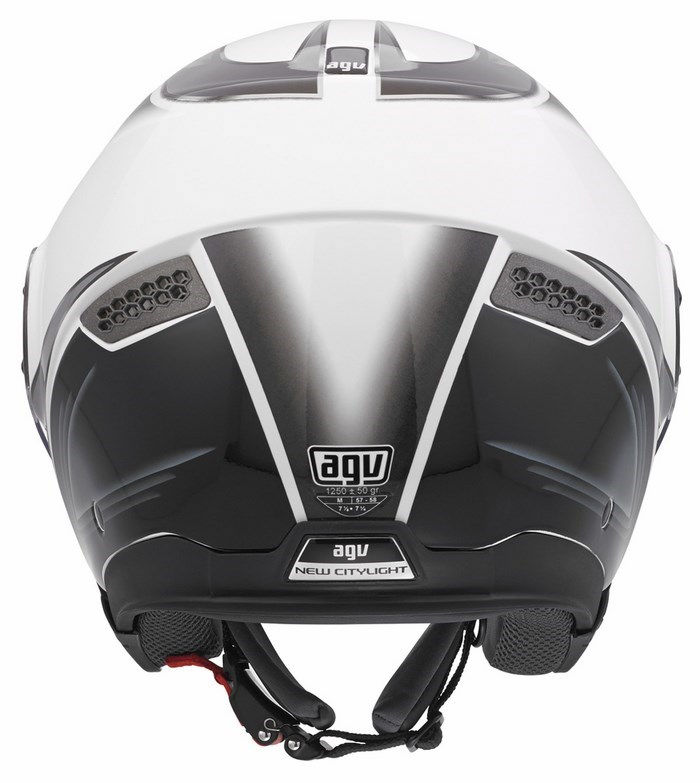Casco moto Agv City New Citylight Multi Urbanrace bianco gunmeta