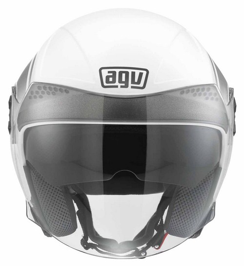 Casco moto Agv New Citylight Multi World bianco-gunmetal