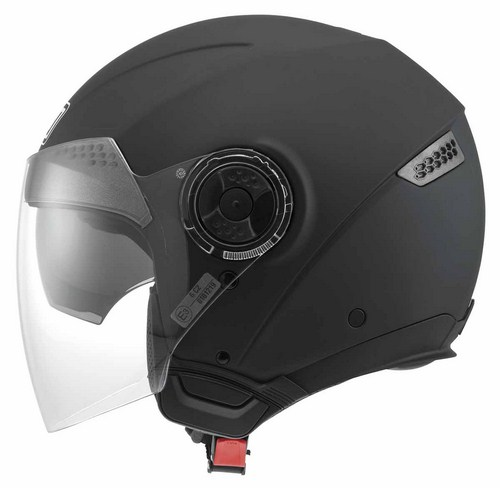 Agv New Citylight Mono jet helmet flat black