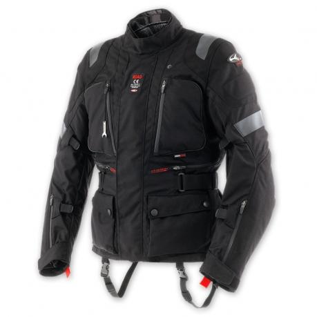 Clover Road WP Level 1 Motorcycle jacket Waterproof Black