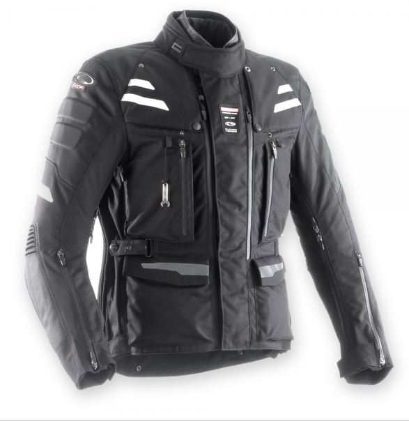 Clover Crossover Airbag jacket Black