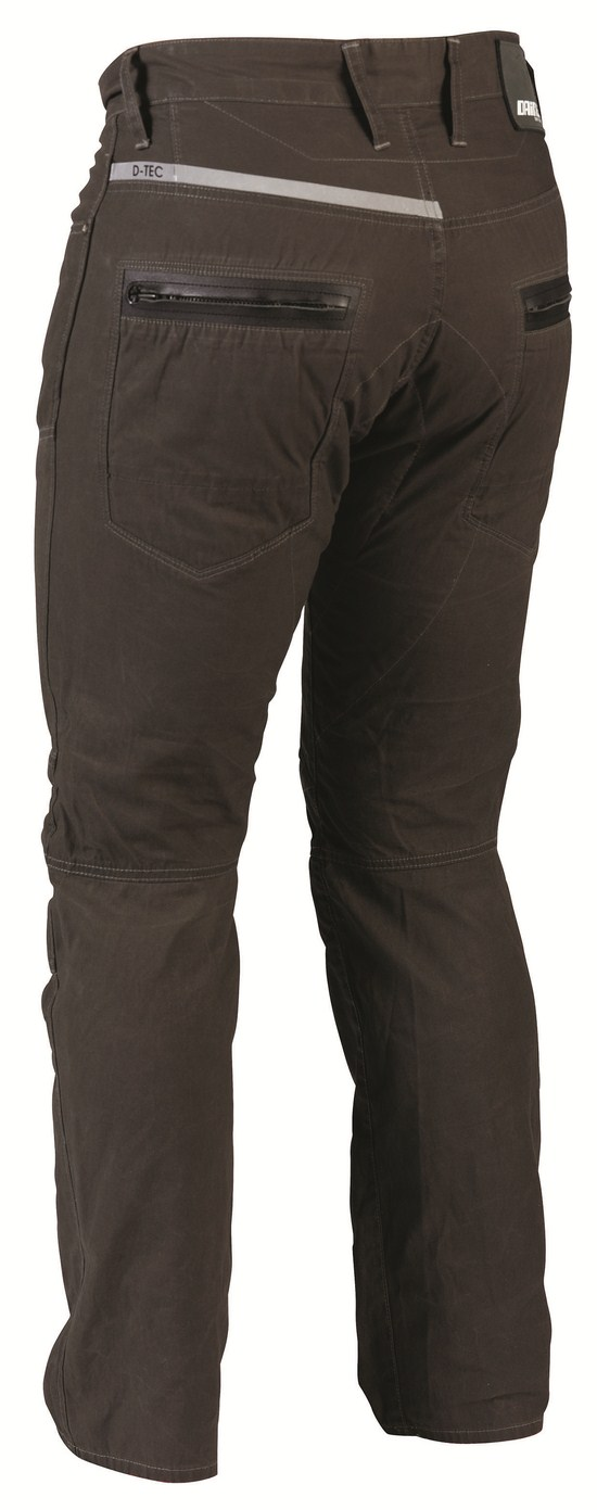 Dainese D3 Canvas pants verdone