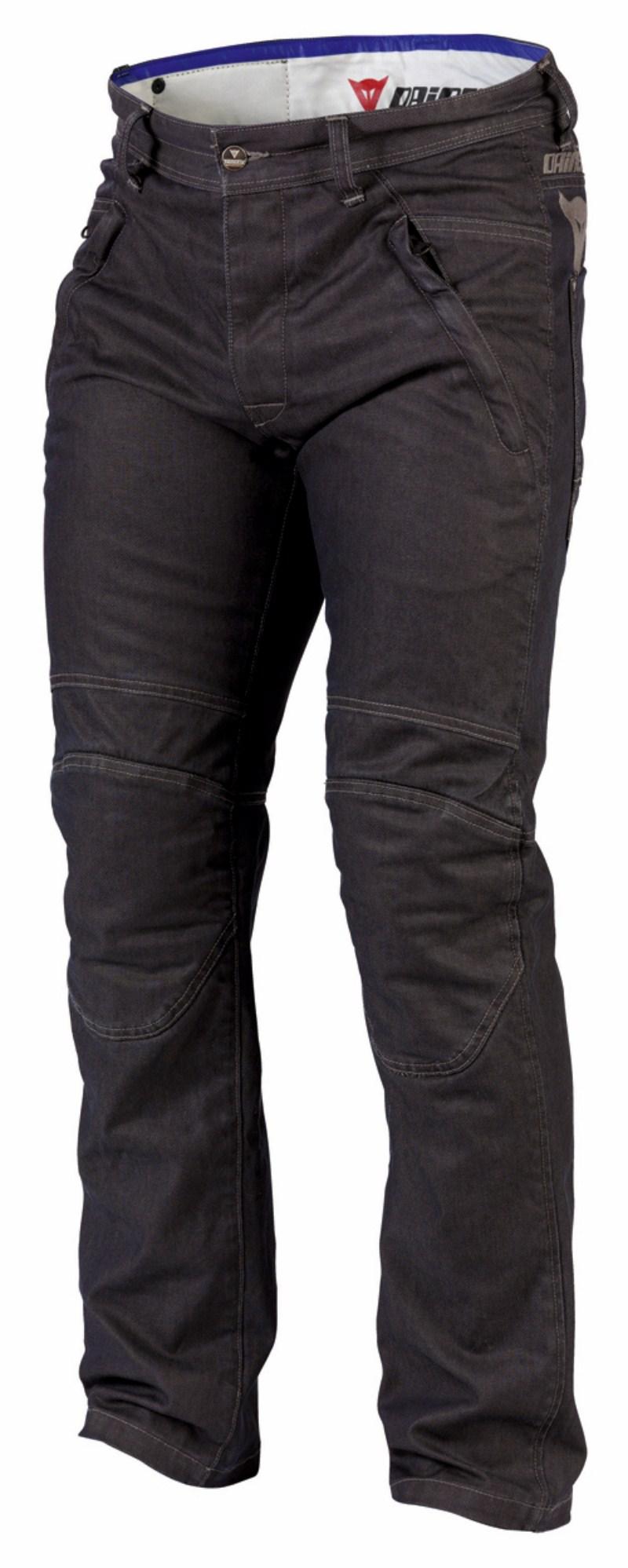 Pantaloni denim jeans Dainese D4 Brace antracite
