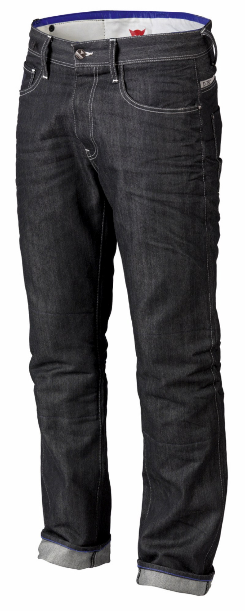 Pantaloni moto jeans Dainese D6 Kevlar colore denim