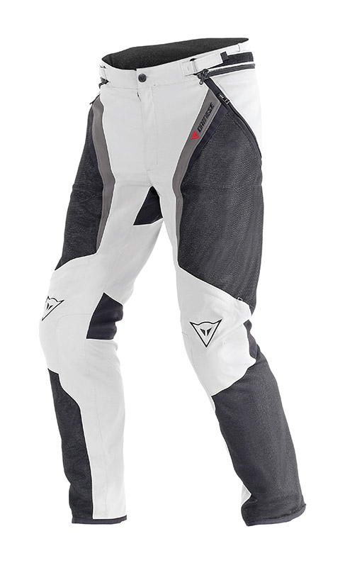 Pantaloni moto estivi Dainese Drake Super Air Tex High rise Dark