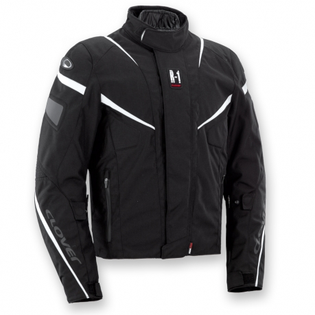 Motorcycle jacket R-01 WP Black Clover