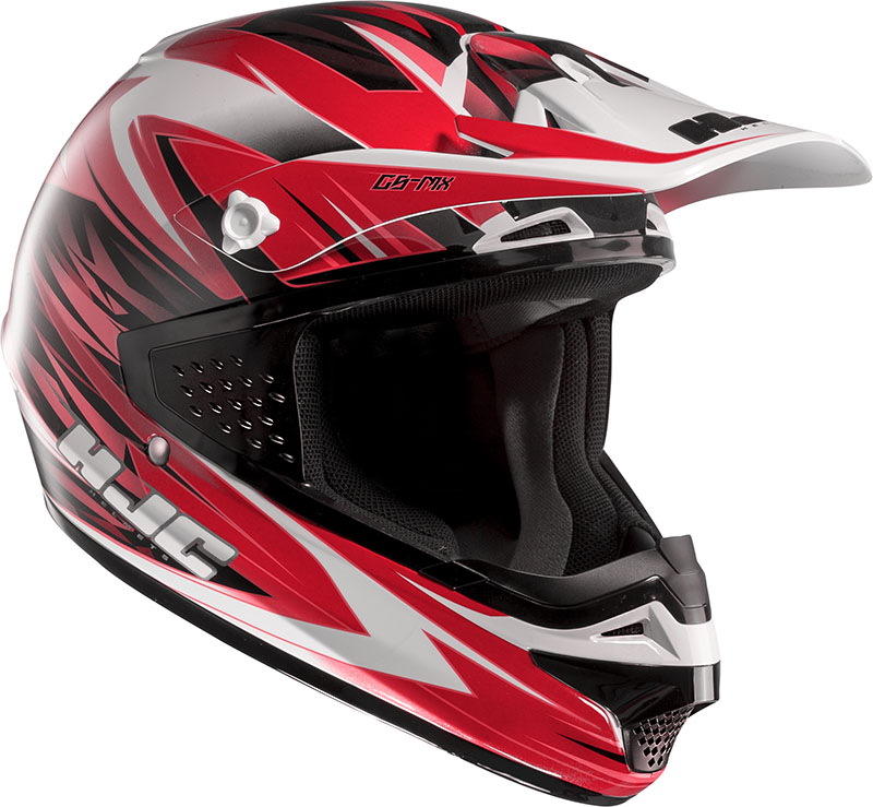 Cross helmet HJC CSMX Shattered MC1