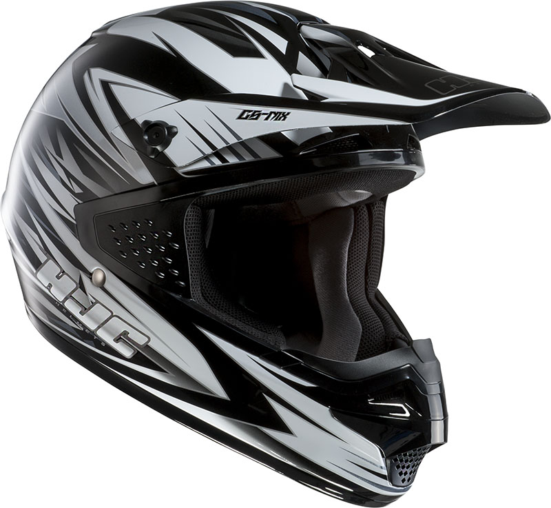 Casco cross HJC CSMX Shattered MC10