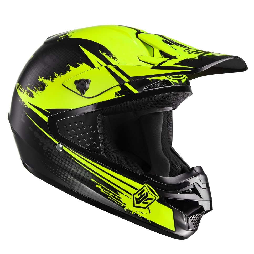 Casco cross HJC CSMX Zealot MC3SF