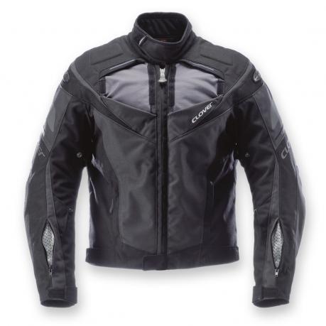 Motorcycle jacket Clover GP-2 Graphite Black