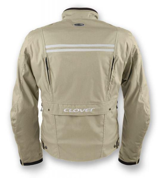 Motorcycle jacket Clover Zeta-3 Sand