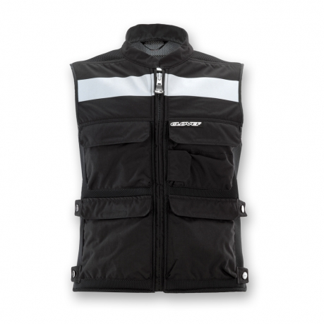 Motorcycle Vest Black Clover Plug and Play