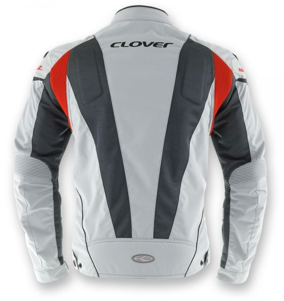Summer motorcycle jacket Clover AirJet 2 Grey