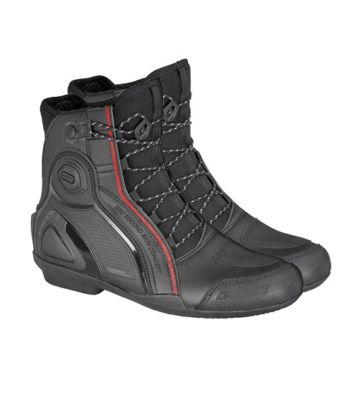 Dainese SSC Alpha D-WP motorcycle shoes black