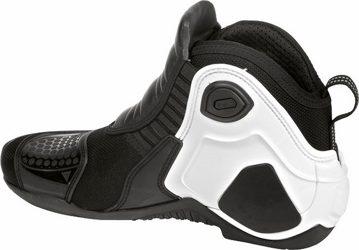 Dainese Dyno Shoes Black White C2B