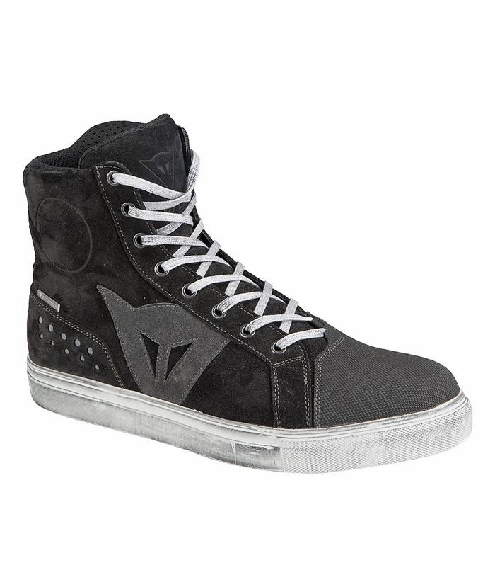 Street Biker Boots Dainese D-WP Black Anthracite