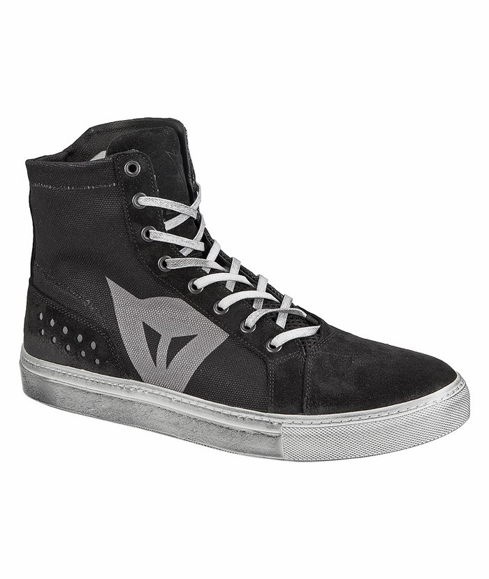 Dainese Street Lite Shoes Black Anthracite