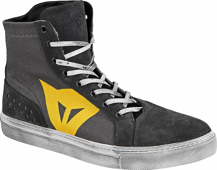 Shoes Dainese Street Lite Charcoal Yellow
