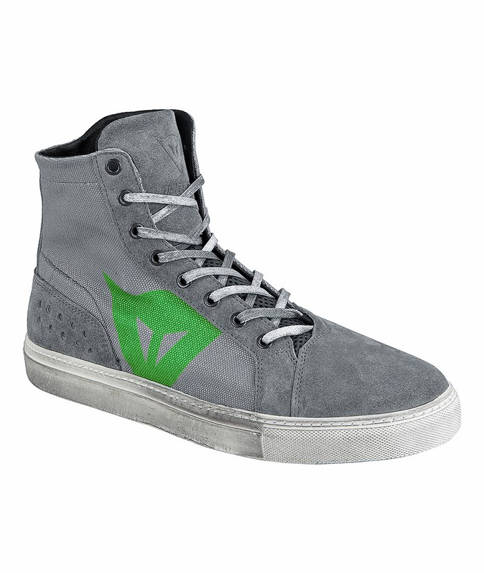 Dainese Street Lite Shoes Grey Green