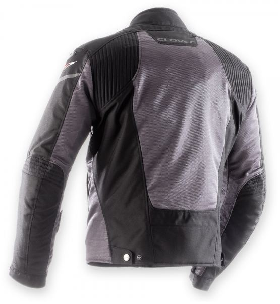 Motorcycle jacket women summer Clover AirJet 3 Lady Black