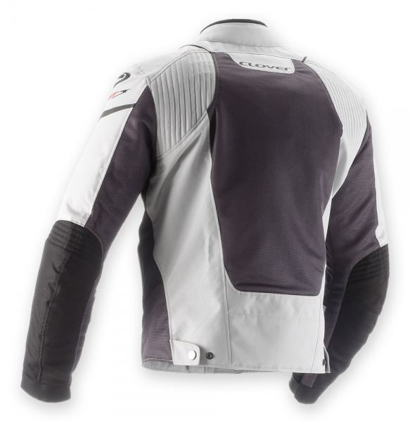 Summer motorcycle jacket Clover AirJet 3 Gray