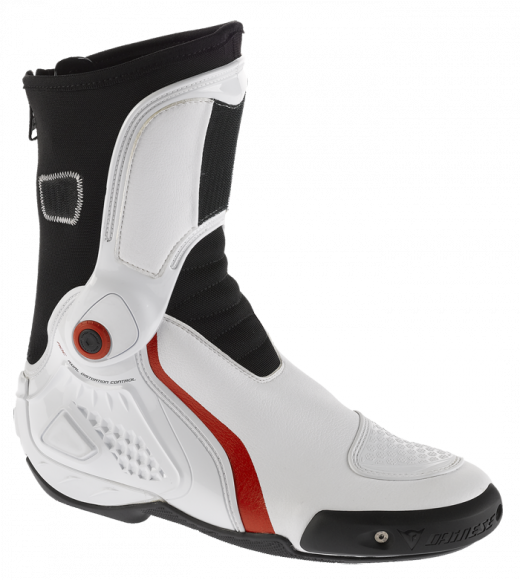 Dainese TRQ-Race In motorcycle boots white-red
