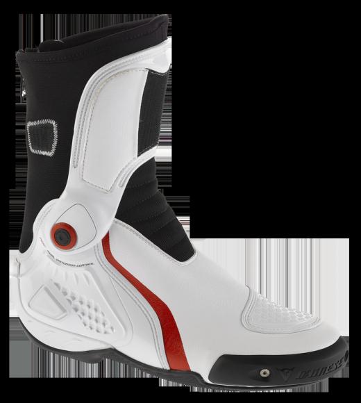 Stivali moto Dainese TRQ-Race In bianco-rossi