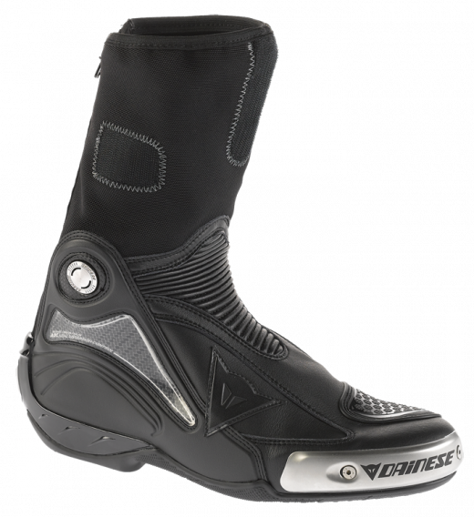 Dainese Axial Pro in motorcycle boots black-black