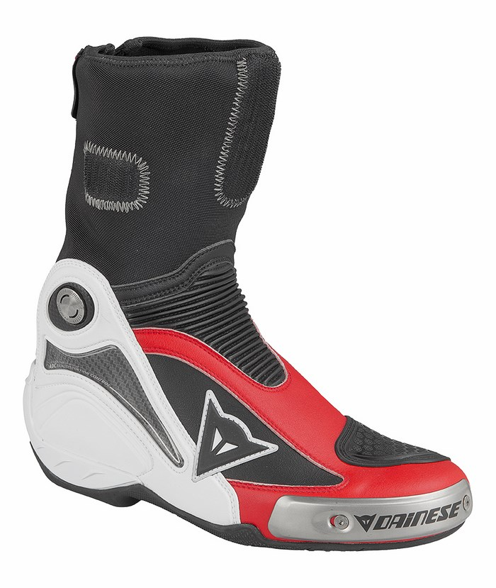 Dainese Axial Pro In Boots White Red