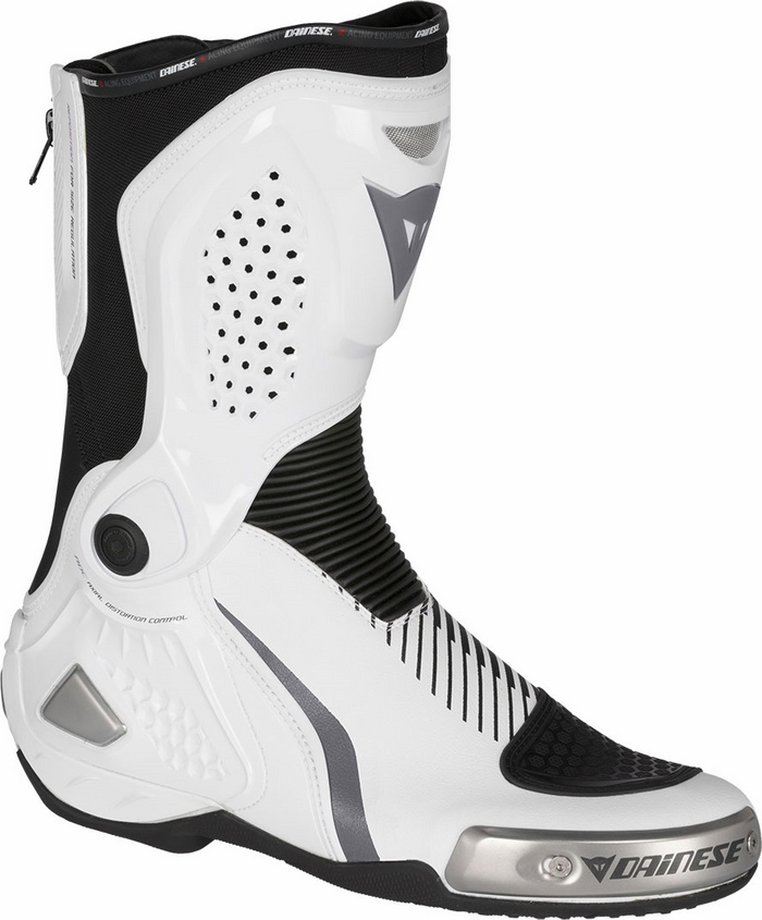 RS motorcycle boots Dainese Torque Out White Black Anthracite