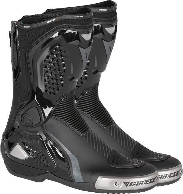 Dainese Torque Out RS racing boots black-carbon-gray