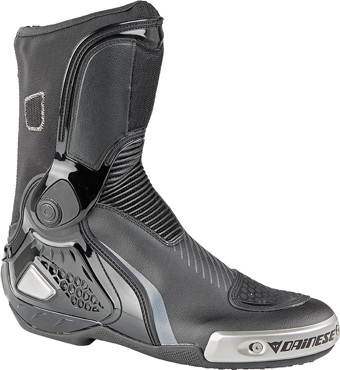 Dainese Torque RS IN racing boots black-carbon-gray