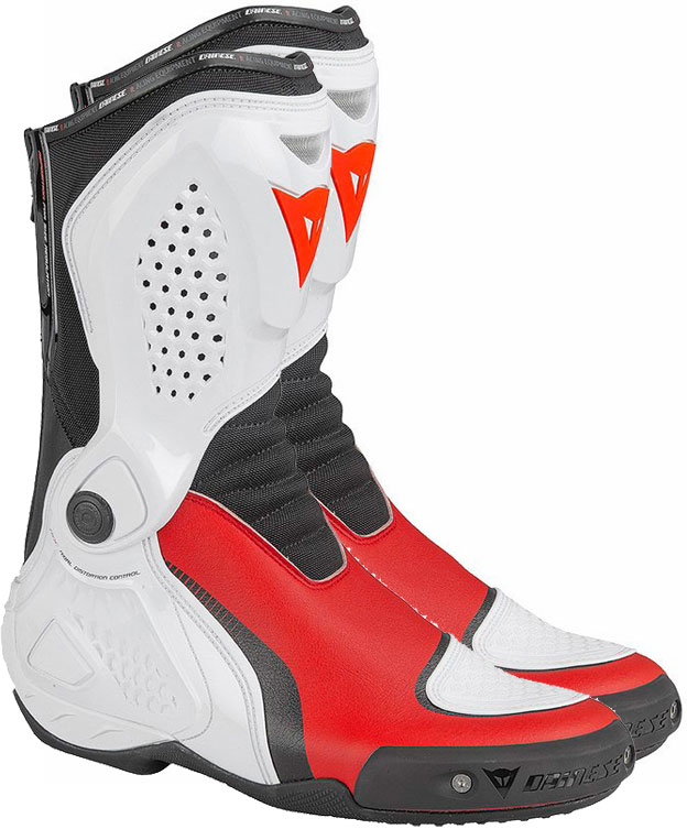 Dainese TR-Course Out red white black boots
