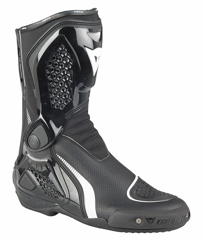 Motorcycle boots Dainese TR-Out Course Air Black White