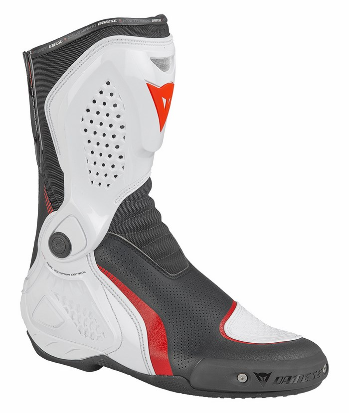 Stivali moto Dainese TR-Course Out Air Nero Bianco Rosso
