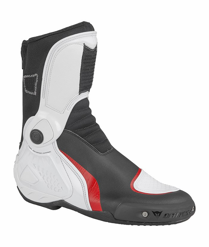 Motorcycle boots Dainese TR-Course IN Black White Red