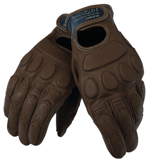 Dainese BlackJack motorcycle gloves brown