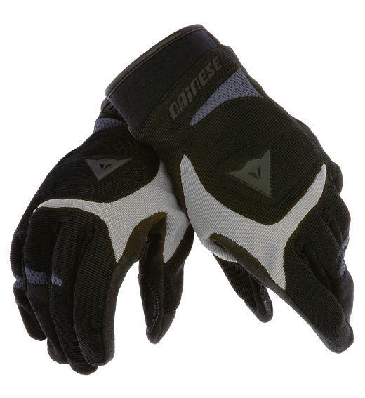 Dainese Desert Poon motorcycle gloves black-silver-anthracite
