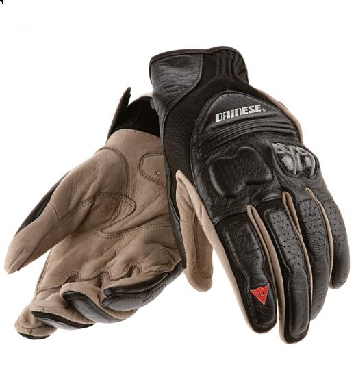 Dainese X-Ile motorcycle gloves black-black-black